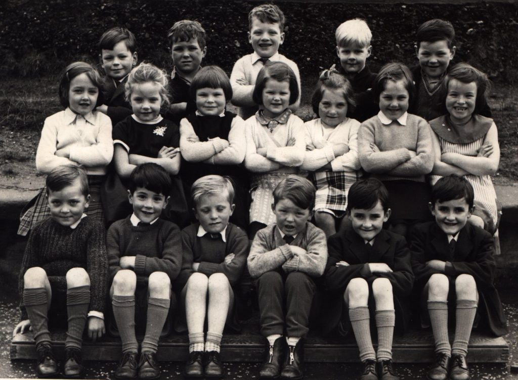 School School photo dated 1965 showing Primary 3