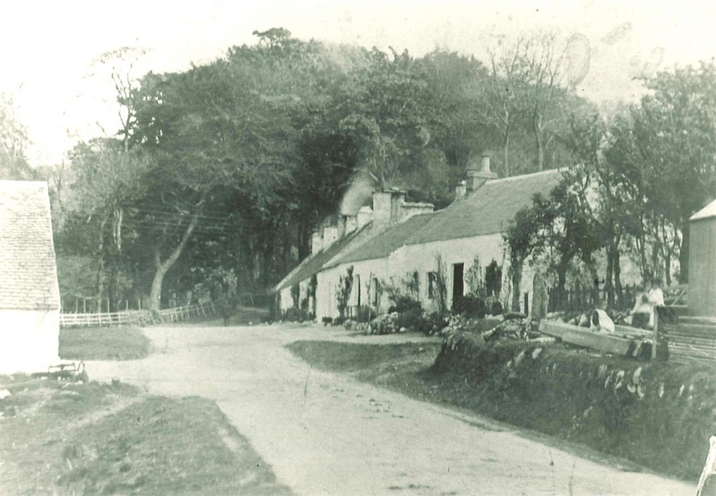 Photo of the Bay houses, taken from the Post Office