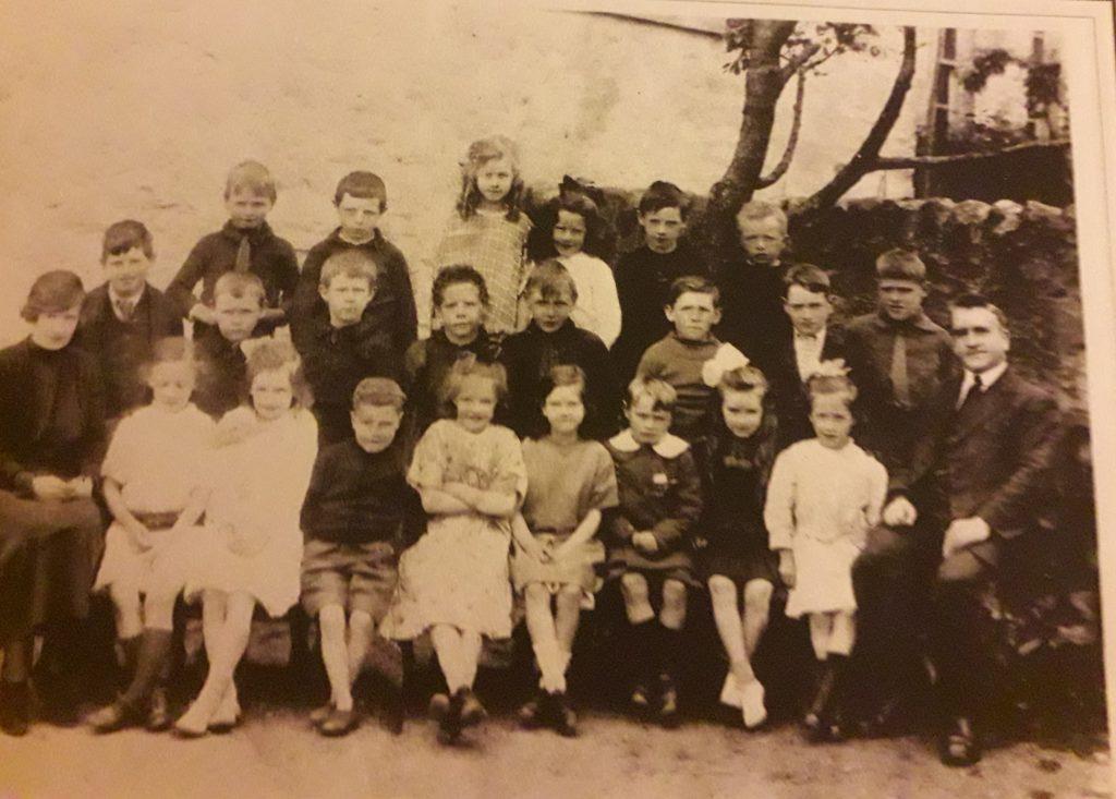 Strachur school 1922/23