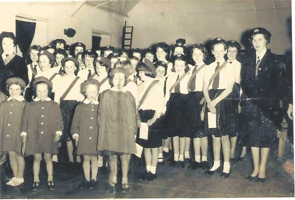 photo of 1st Strachur Co. Girl's Brigade