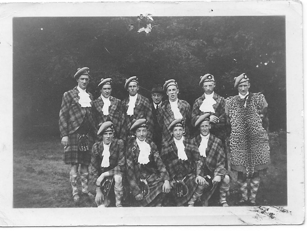Photo of Miss Joan Campbell Pipe Band