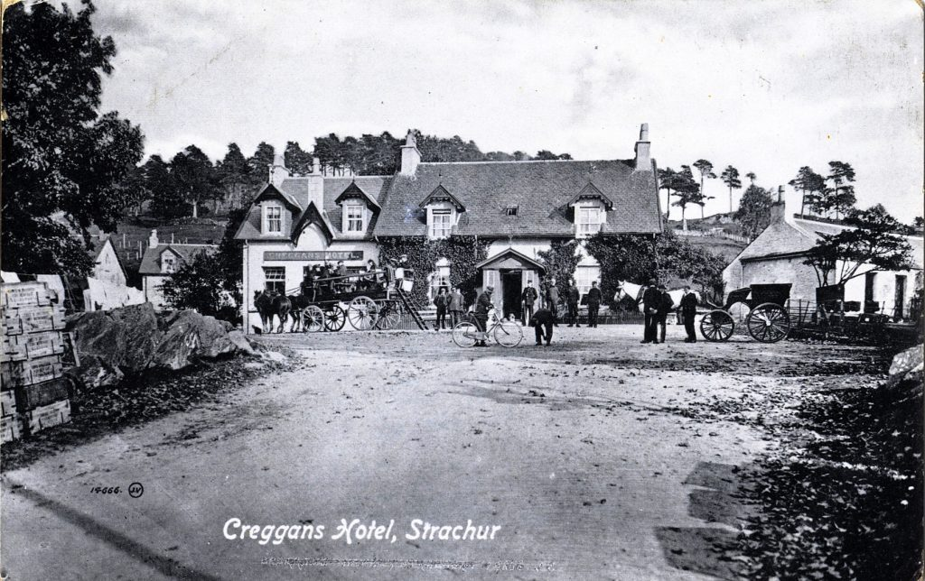 The Creggans Hotel from the Pier