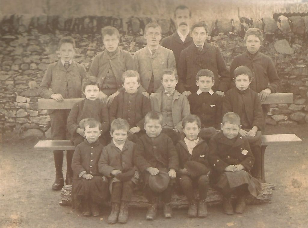 Photo of Poll School Children 1880
