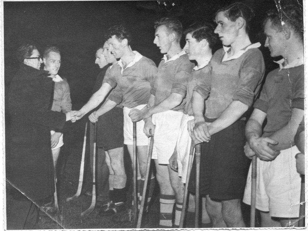 Strachur Shinty team 1958