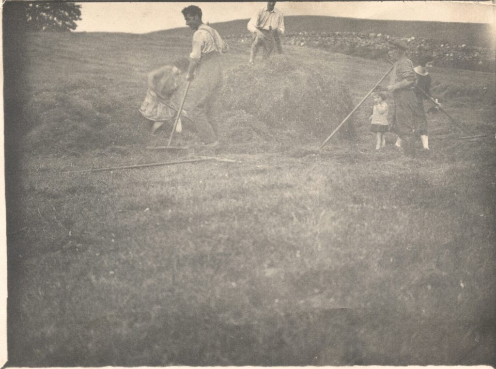 F1-004 Haymaking at Inverglen