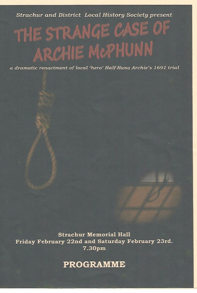 Programme of MacPhunn Play