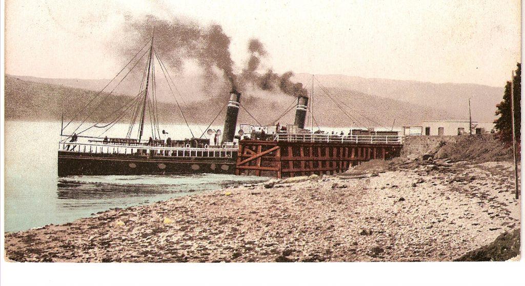 Photo of Strachur pier
