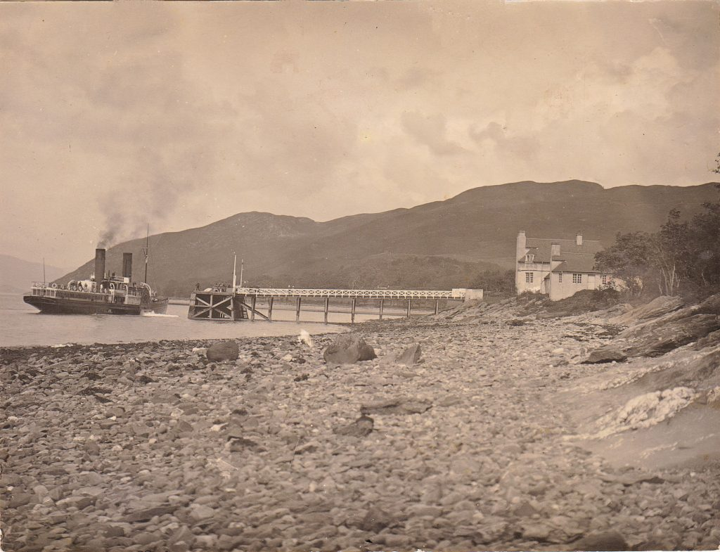Photo of Steamer at the pier