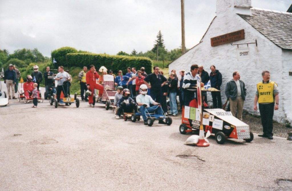 Photo of The Bogie Race