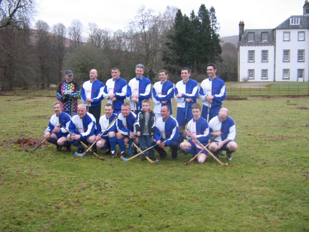 Boxing Day Shinty 2008