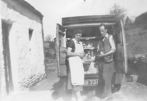 Archie McNair's Grocery Van at Garrel