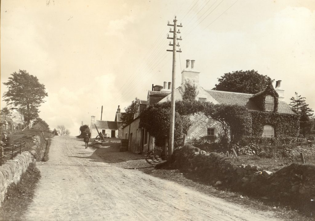 From The MacDonald Album  Ivy Cottage