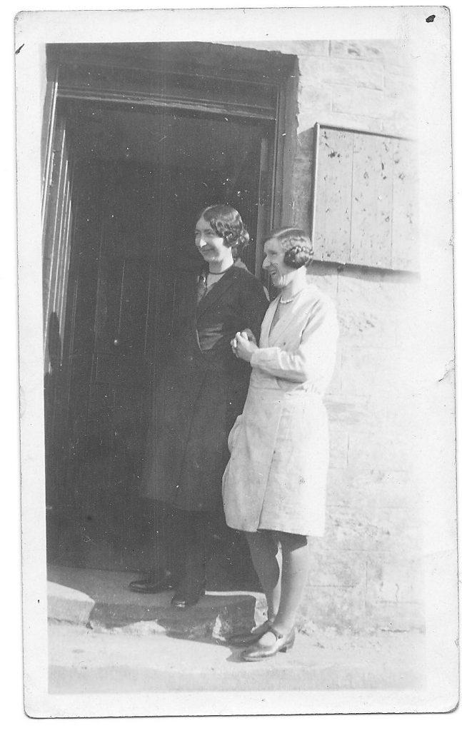 Jenny MacCallum on the right