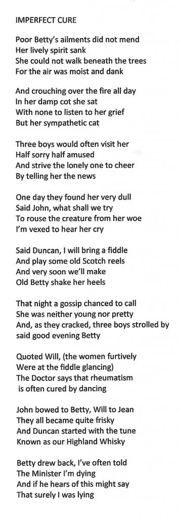 Betty Jenkins Poem